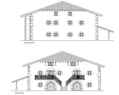 Rehabilitación de caserío en Barbatxo. Zeberio