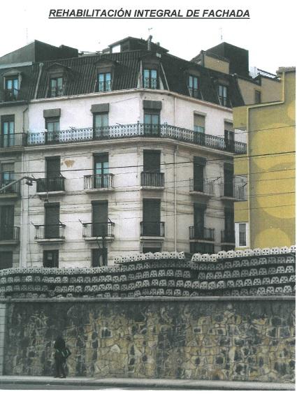 Rehabilitación integral de fachada en Donostia